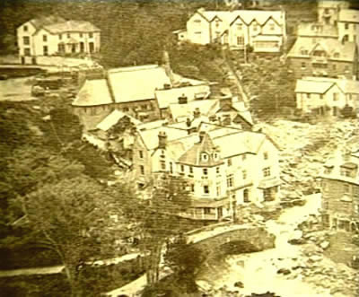 the lynmouth floods Lynmouth floods - project cumulus 1952 weather modification history by: the history channel.